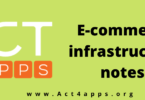 E-commerce infrastructure notes