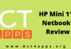 HP Mini 110 Netbook Review