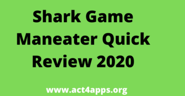 Shark Game Maneater Quick Review 2020