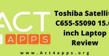 Toshiba Satellite C655-S5090 15.6-inch Laptop Review