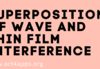 Superposition of Wave and Thin Film Interference
