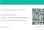 Web.whatsapp.com adresine gidin ve mobil cihaz üzerinden kodu tarayın.