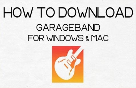 Download and install the GarageBand on Windows 10