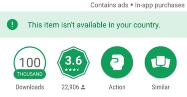 INSTALL A GAME OR APPLICATION THAT IS NOT AVAILABLE IN YOUR COUNTRY