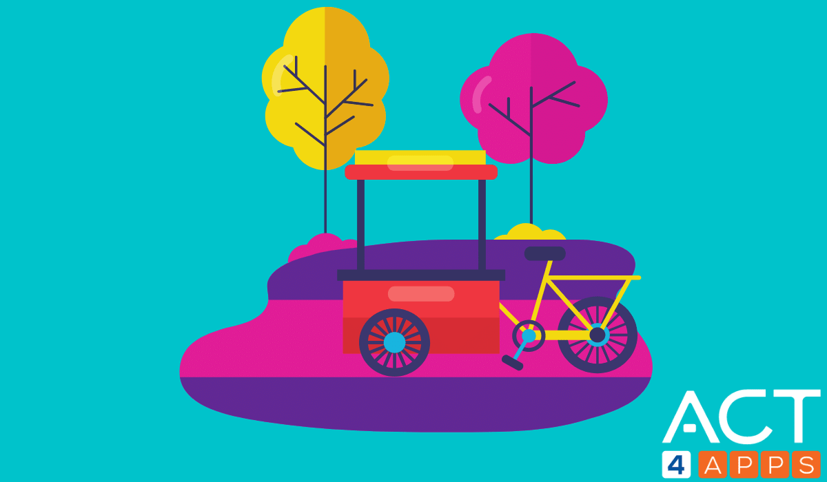 Professional Food Bikes
