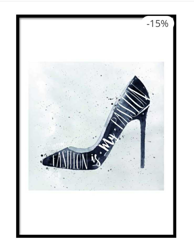 Fashion is my passion poster