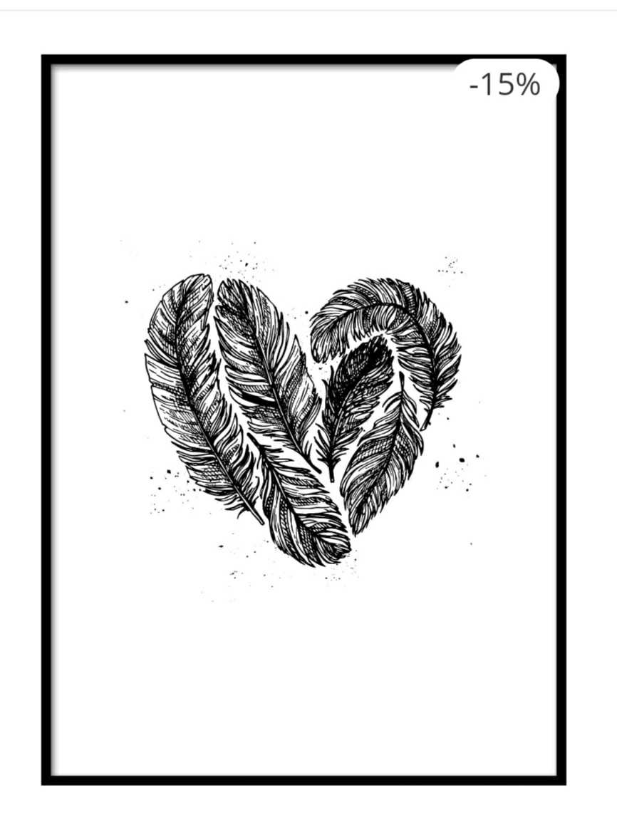 Feather the Love Poster